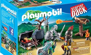 Playmobil 70036 Knights Starter Pack with Treasure