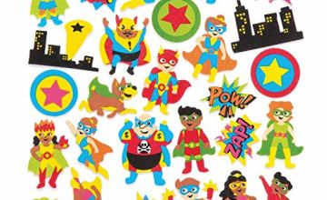Star Hero Foam Stickers (Pack of 120)