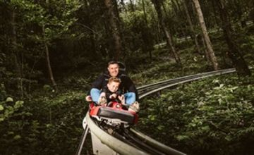 Zip World Fforest Coaster Ride Experience for Two Special Offer