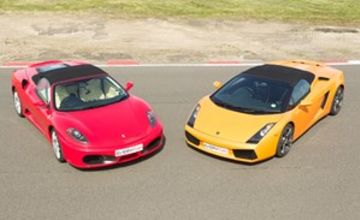 Double Supercar Driving Thrill in Leicestershire