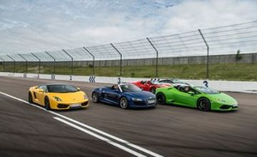 Four Supercar Thrill with Free High Speed Passenger Ride - Week Round