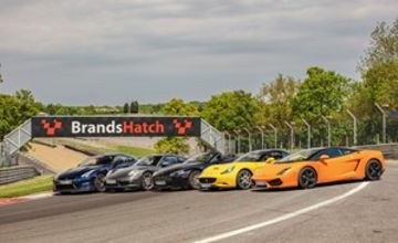 Five Supercar Driving Blast at Brands Hatch