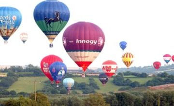 Sunrise Balloon Flight with Champagne for Two UK Wide