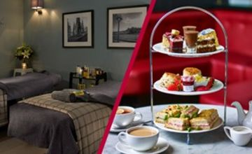 Blissful Spa Day with 25 Minute Treatment and Afternoon Tea at Cafe Rouge for Two
