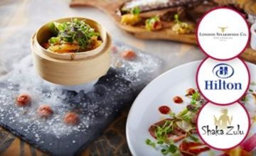 2 for 1 Deluxe London Dining Experience