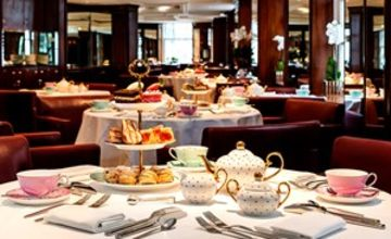 Afternoon Tea with a Bottle of Prosecco for Two at Scoff and Banter Tea Rooms