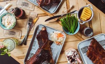 Three Course Dinner with Drinks for Two at Chicago Rib Shack
