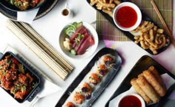 Six Dish Sharing Menu with Dessert for Two at Inamo