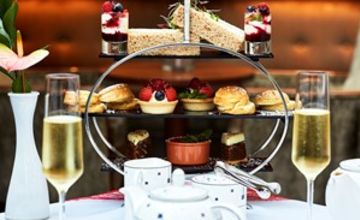 Afternoon Tea with Bottomless Bubbles for Two in London
