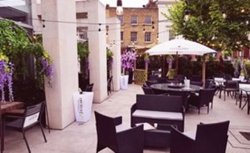 Secret Garden Dining with an Eight Dish Sharing Menu for Two at Inamo Camden