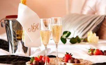 One Night Break with Champagne Tea at Netherstowe House Special Offer