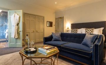 Overnight Break with a Bottle of Fizz for Two at The Queensberry Hotel
