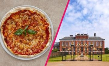 Kensington Palace Entry with Three Courses and Bottle of Wine at Prezzo for Two