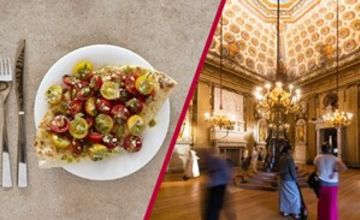 Kensington Palace Entry with Three Course Meal and Glass of Wine at Prezzo for Two