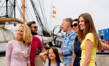 Family Annual Pass to Portsmouth Historic Dockyard