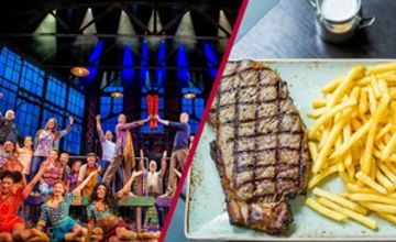 Upper Circle Theatre Show and Dining for Two at Steak and Lobster