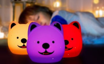 Bedroom Dog Night Light - Colour-Changing!