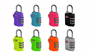 TSA-Approved Luggage Combination Lock - 1, 2 or 3