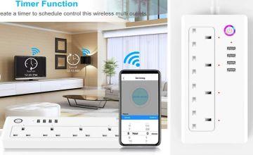 Smart Wi-Fi Extension Plug With USB Ports