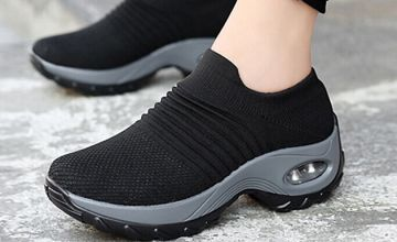 Breathable Air-Cushion Trainers - 4 Colours & 6 Sizes