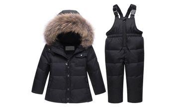 Kids' 2-Piece Winter Snowsuit - 4 Colours & 4 Sizes