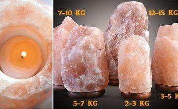 Himalayan Salt Lamp - 4 Sizes