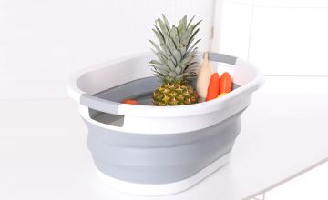 Collapsible Oval Laundry Basket - S or L