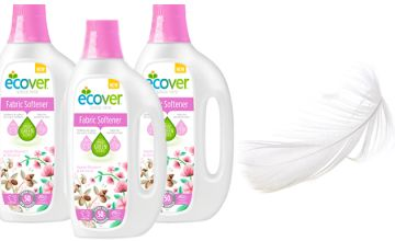 Ecover 1.5L Apple Blossom & Almond Fabric Softener  - 1, 2 or 4