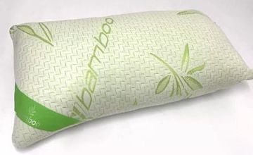 Bamboo Memory Foam Orthopaedic Pillow - 1 or 2
