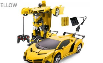2-in-1 Remote Control Car & Transforming Robot - 5 Designs