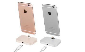 1 or 2 Aluminium iPhone Charging Docks - 4 Colours