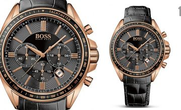 Men's Hugo Boss Chronograph Watches - 6 Styles!