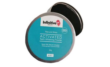 Charcoal 'Naturally Activated' Teeth Whitening Powder