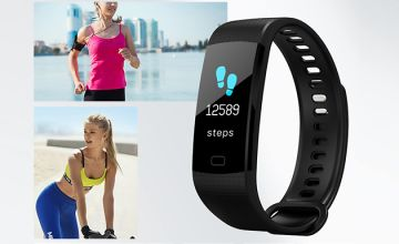 8-in-1 Smart Fitness Watch With Heart Rate Monitor - 5 Colours