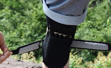 Pair of Joint Support Power-Lift Knee Braces