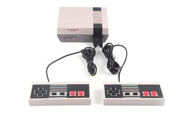 Mini Classic Game Console With 620 Built-In Games - 1 or 2