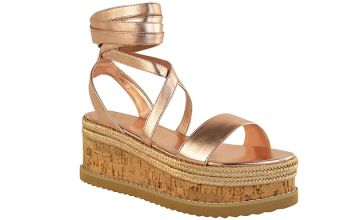 Wedged Open Toe Summer Sandles - 4 Colours