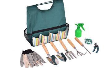 Garden Tool Set - 7 or 10-Piece