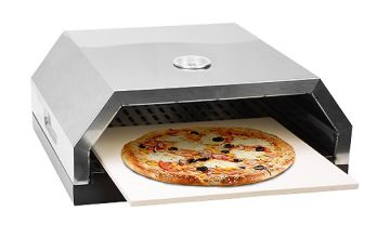 2-in-1 BBQ Top Pizza Oven