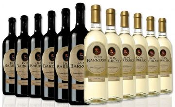 Selection of 12 Bottles of Tierra de Castilla Spanish Wine - 3 Options
