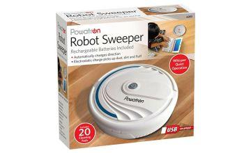 Powatron Rechargeable Cordless Robot Sweeper