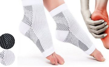 7-Point Foot Angel Compression Sock - 2 Colours, 2 Sizes
