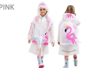 Kids Waterproof Raincoat - 4 Colours
