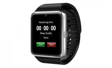 10-in-1 Bluetooth Smartwatch with 1.3MP Camera