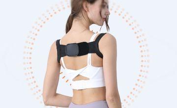 Posture-Corrector Back Brace - Black or White