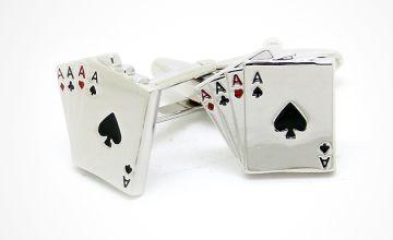Gents' Poker Cufflinks
