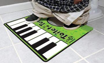 Musical Toilet Floor Piano