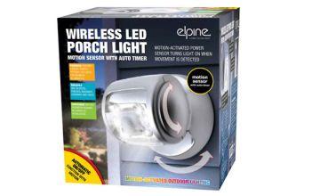 Wireless LED Motion Sensor Porch Light