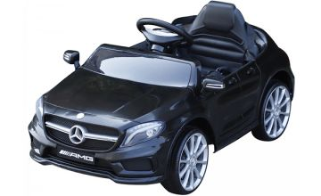 Ride-On Electric Mercedes Benz Car - Black or Red