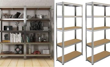 Heavy Duty Shelving Racks - Straight or Corner Units